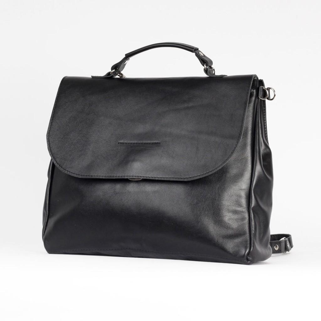 feba603b7b15 Стильный женский рюкзак-портфель Клеопатра из натуральной кожи размер L