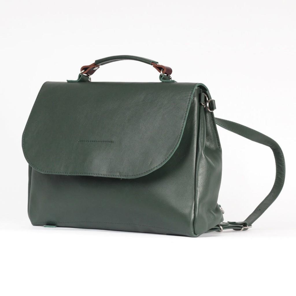 00af7ea378eb Стильный женский рюкзак-портфель Магдалина из натуральной кожи размер M