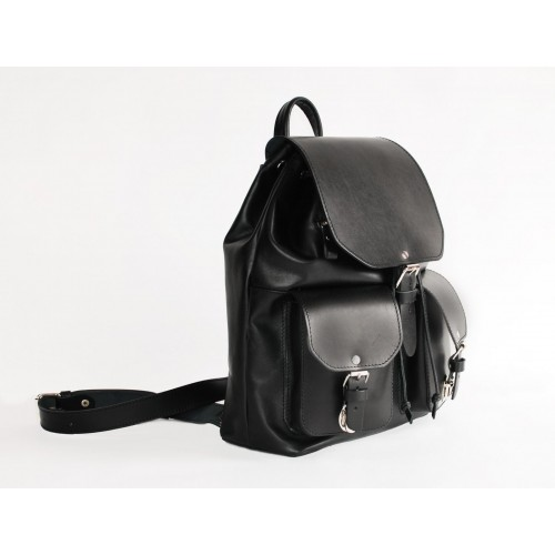 Кожаный женский рюкзак - Касабланка