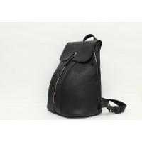 Кожаный женский рюкзак с отделением под ноутбук - Горацио