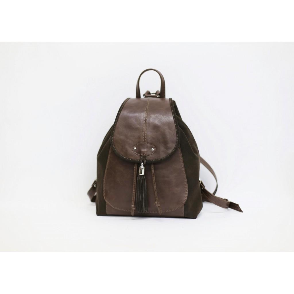 Кожаный женский рюкзак - Феличита