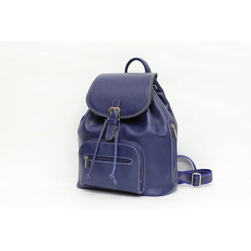 Кожаный женский рюкзак - Ангелина