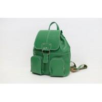 Кожаный женский рюкзак мини - Афродита